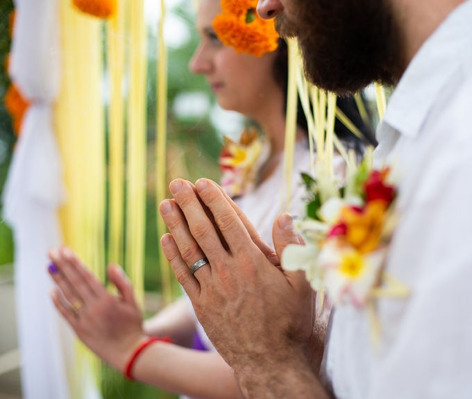 Katie & Nial Balinese Wedding in Ubud by The Mansion Baliwood Resort Hotel and Spa - 008
