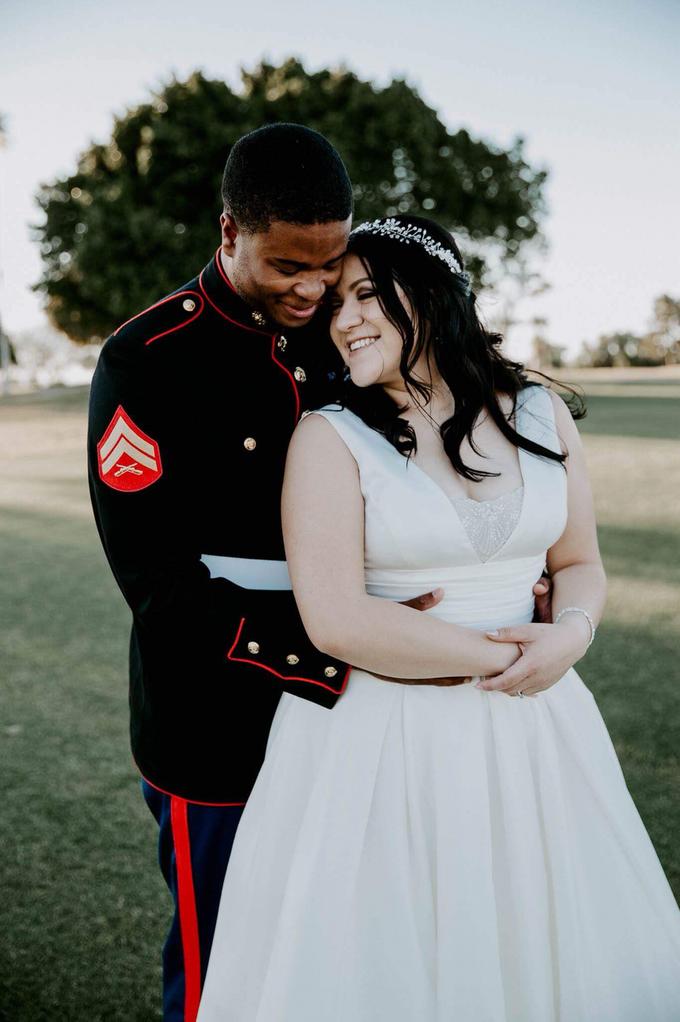 Marine Corps Wedding  by Kayla Mattox Photography - 001