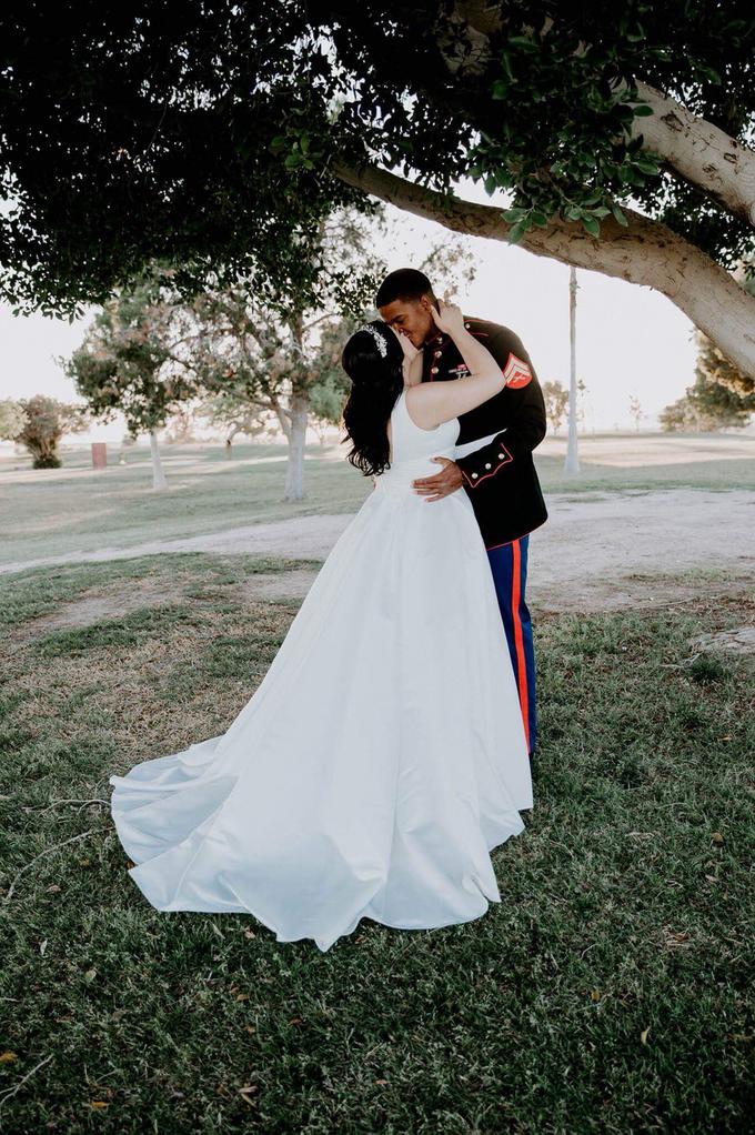 Marine Corps Wedding  by Kayla Mattox Photography - 002