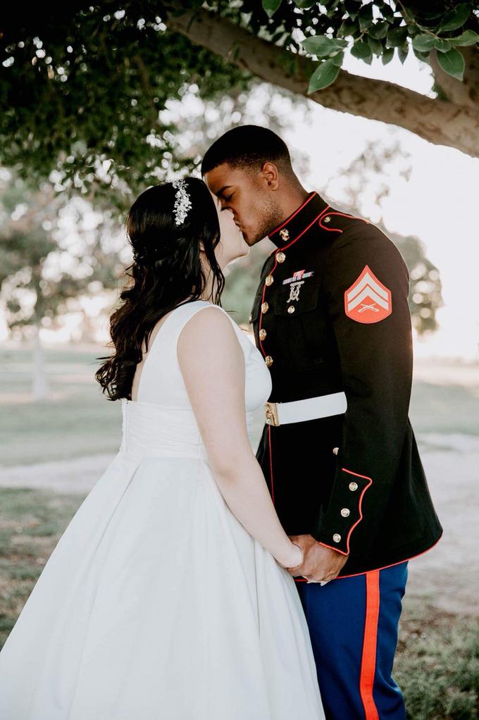 Marine Corps Wedding  by Kayla Mattox Photography - 003