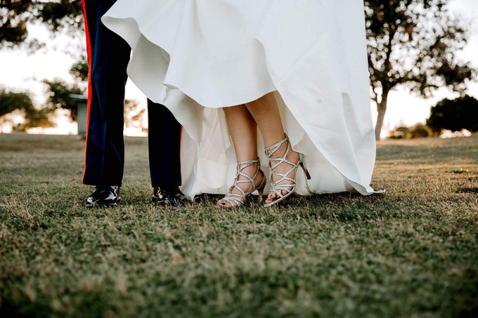 Marine Corps Wedding  by Kayla Mattox Photography - 004