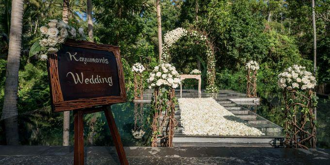 Kayumanis Ubud Intimate Bali Wedding by Chroma Wedding - 009