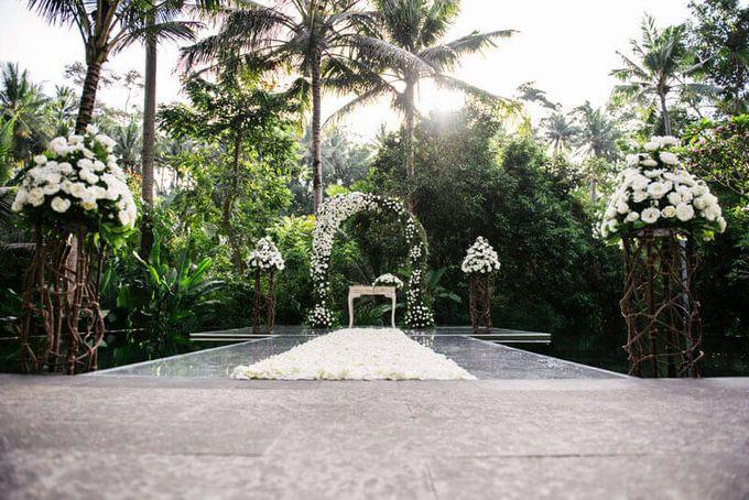 Kayumanis Ubud Intimate Bali Wedding by Chroma Wedding - 002