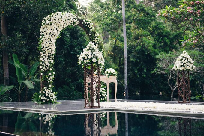 Kayumanis Ubud Intimate Bali Wedding by Chroma Wedding - 003