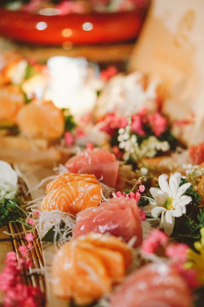 Sushi and Sashimi Stand by Kaminari Catering - 010