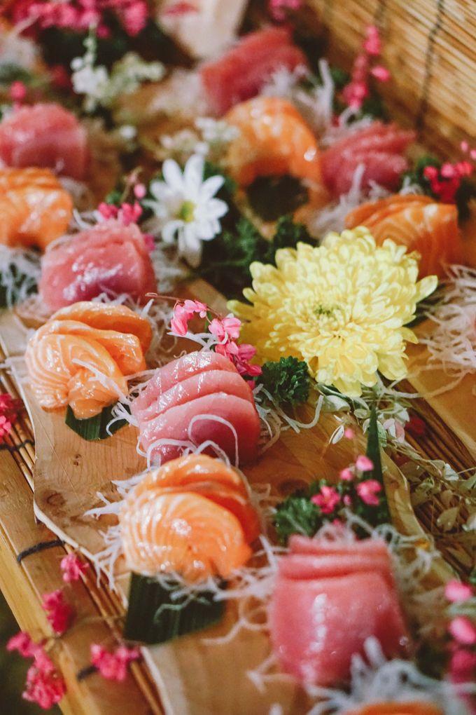 Sushi and Sashimi Stand by Kaminari Catering - 011