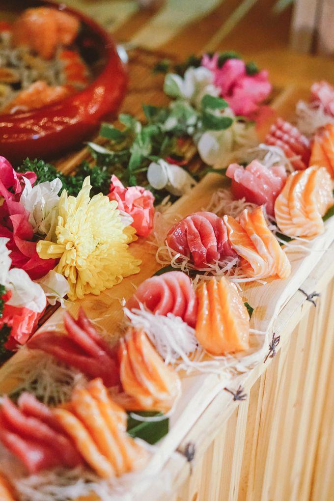 Sushi and Sashimi Stand by Kaminari Catering - 013