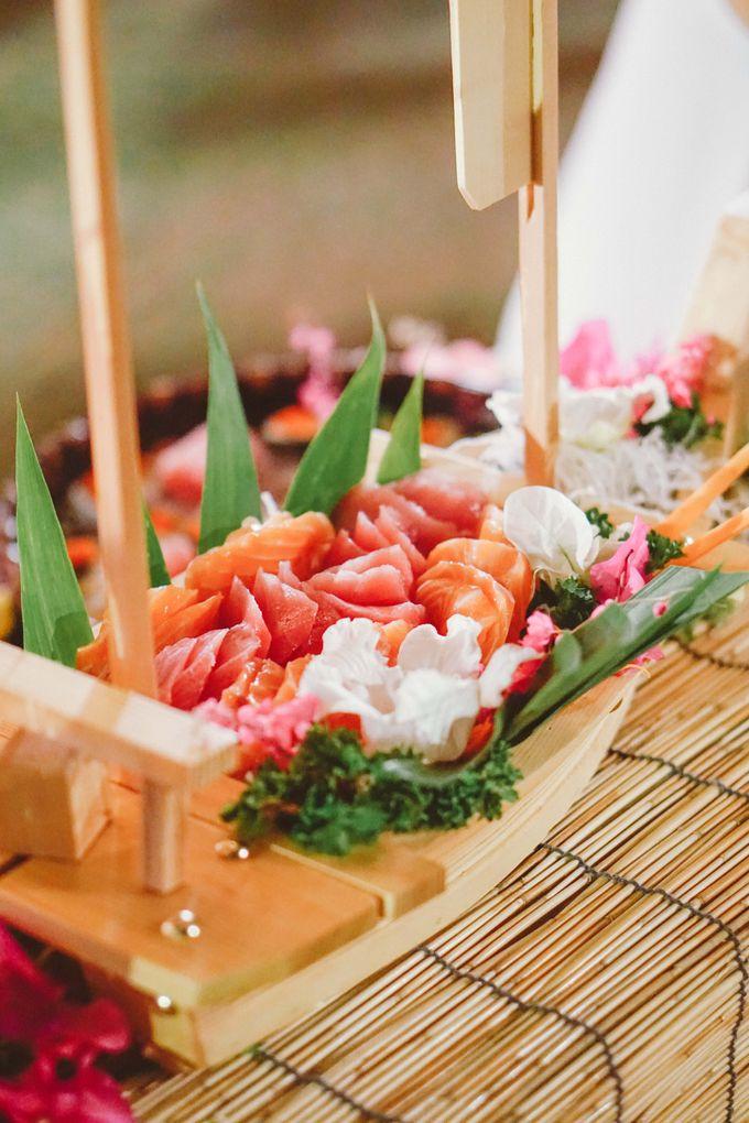 Sushi and Sashimi Stand by Kaminari Catering - 014
