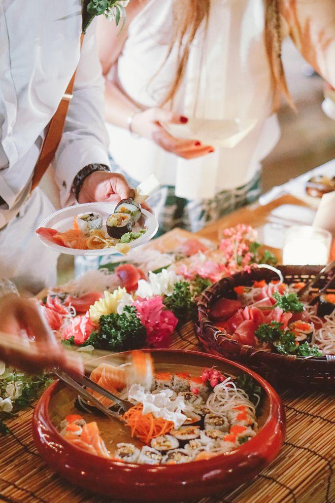 Sushi and Sashimi Stand by Kaminari Catering - 019