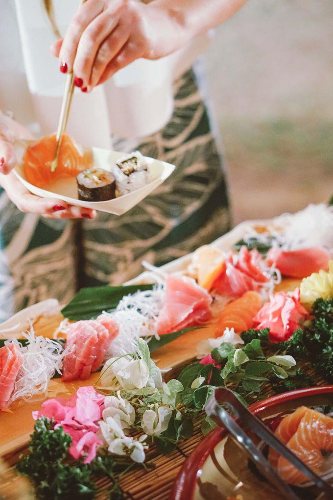 Sushi and Sashimi Stand by Kaminari Catering - 021