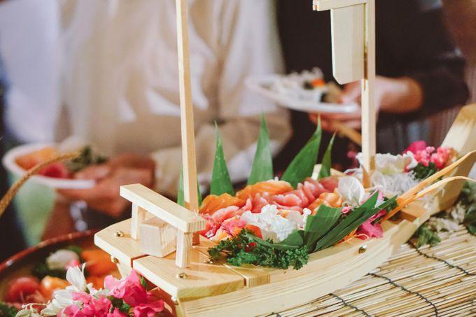 Sushi and Sashimi Stand by Kaminari Catering - 022