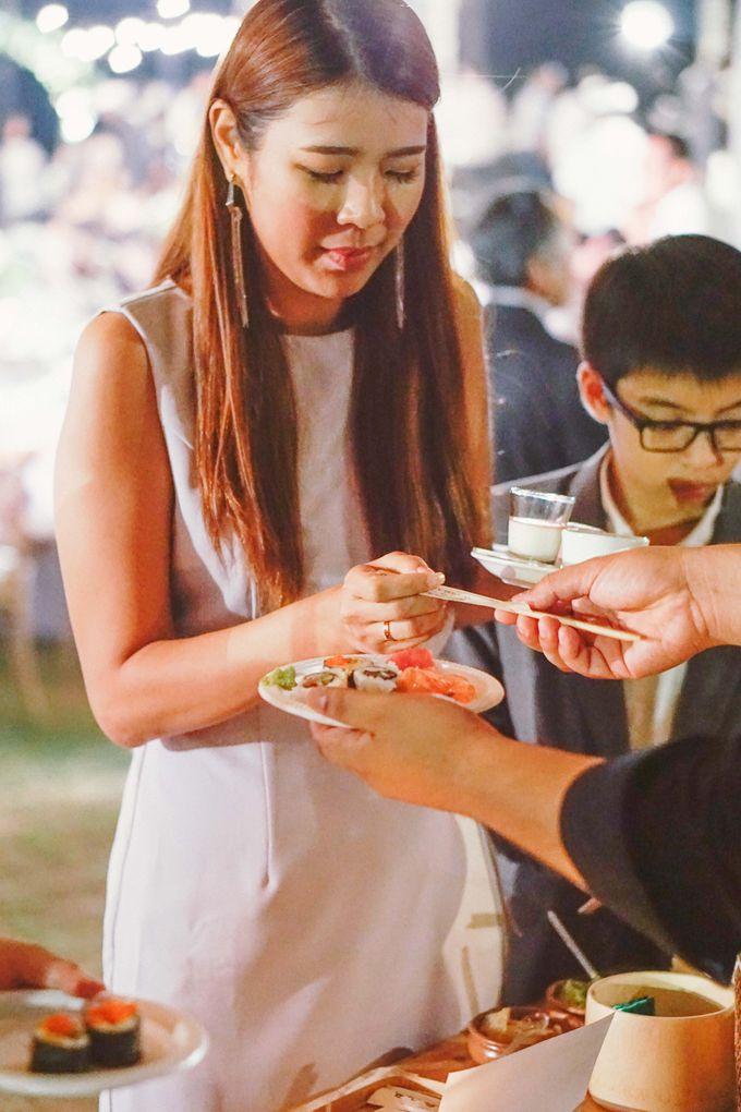 Sushi and Sashimi Stand by Kaminari Catering - 028