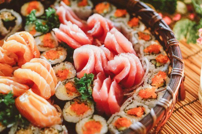 Sushi and Sashimi Stand by Kaminari Catering - 003