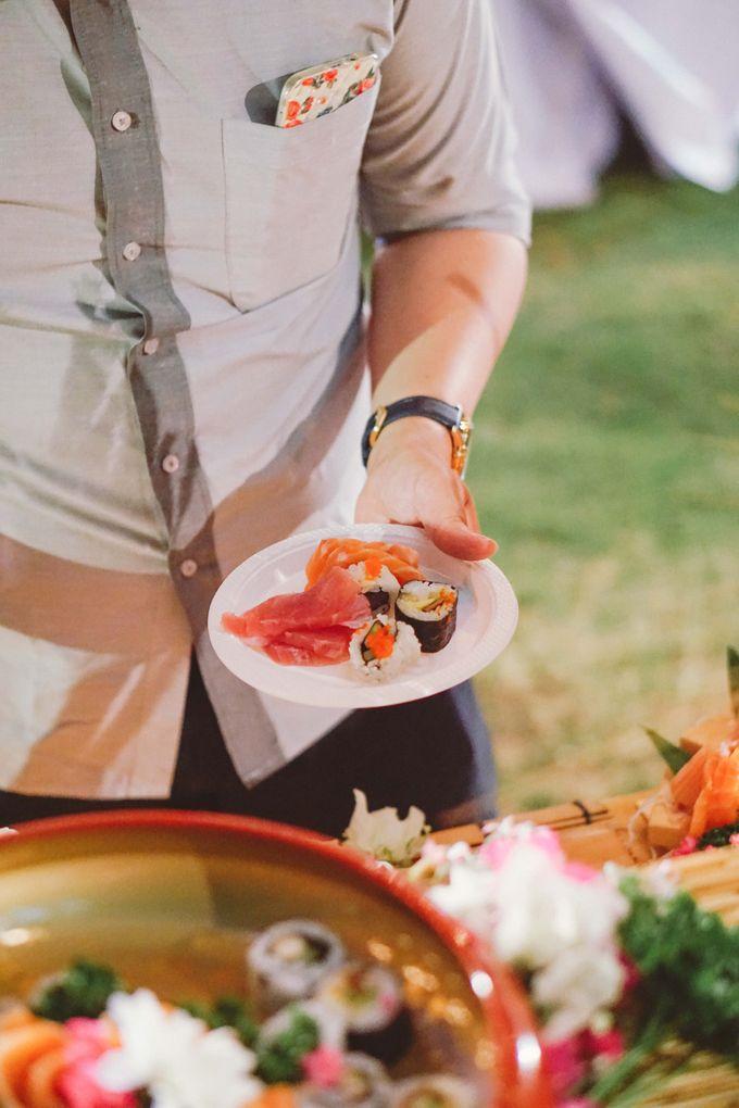 Sushi and Sashimi Stand by Kaminari Catering - 030