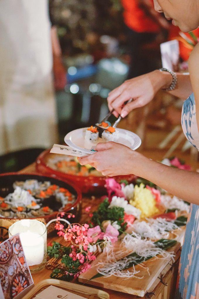 Sushi and Sashimi Stand by Kaminari Catering - 035