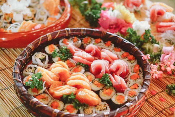 Sushi and Sashimi Stand by Kaminari Catering - 004