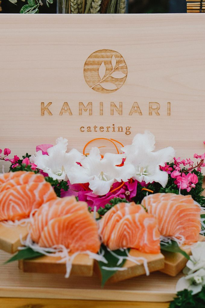Sushi and Sashimi Stand by Kaminari Catering - 001
