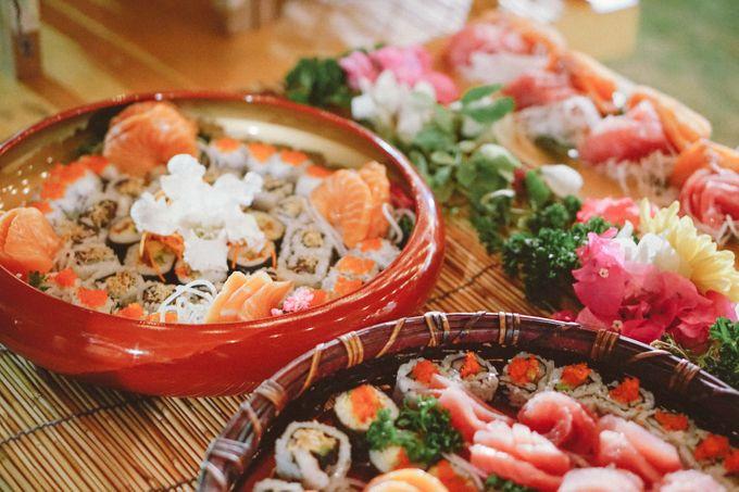 Sushi and Sashimi Stand by Kaminari Catering - 005