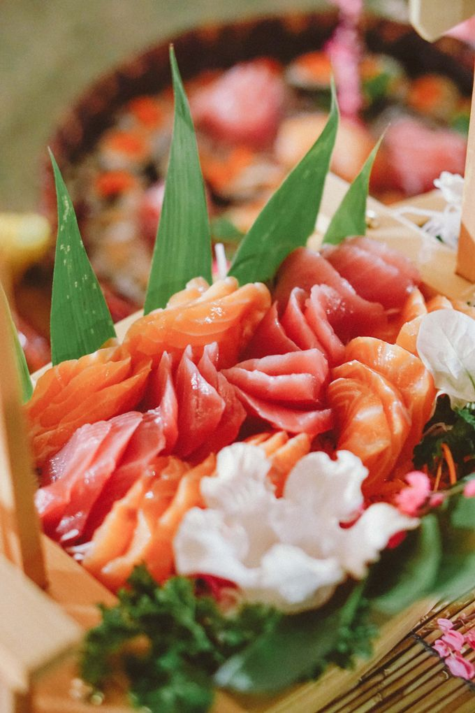 Sushi and Sashimi Stand by Kaminari Catering - 006