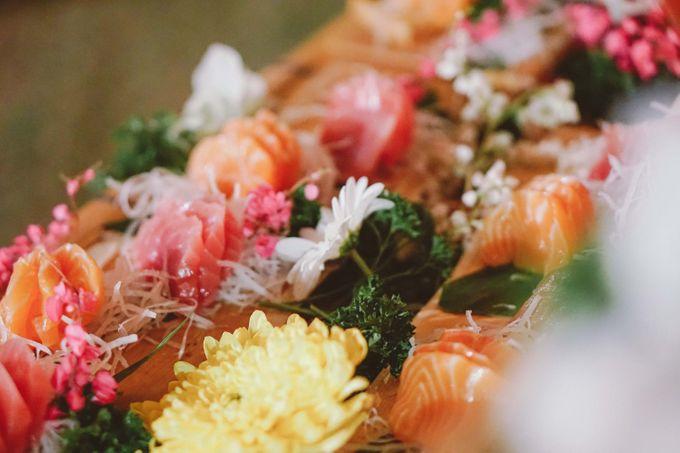 Sushi and Sashimi Stand by Kaminari Catering - 007