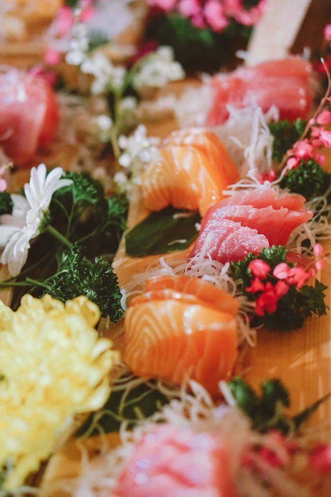 Sushi and Sashimi Stand by Kaminari Catering - 008