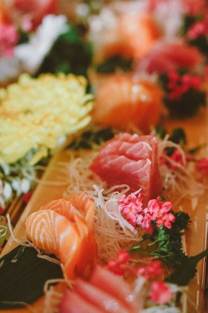 Sushi and Sashimi Stand by Kaminari Catering - 009