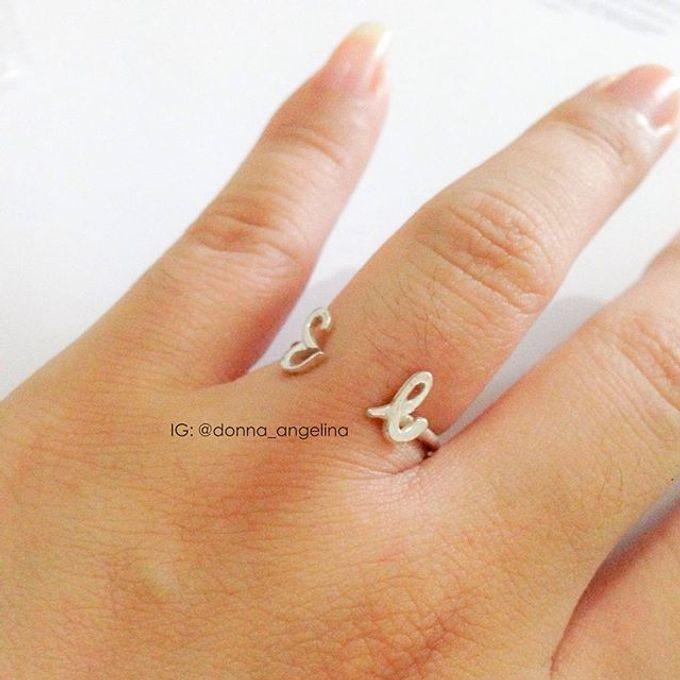 Name & Initial by DA Jewelry - 005