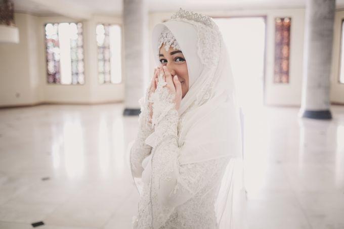 Kebaya Akad Nikah Syari Abel Dilla Berani Berhijrah By Laksmi 0817