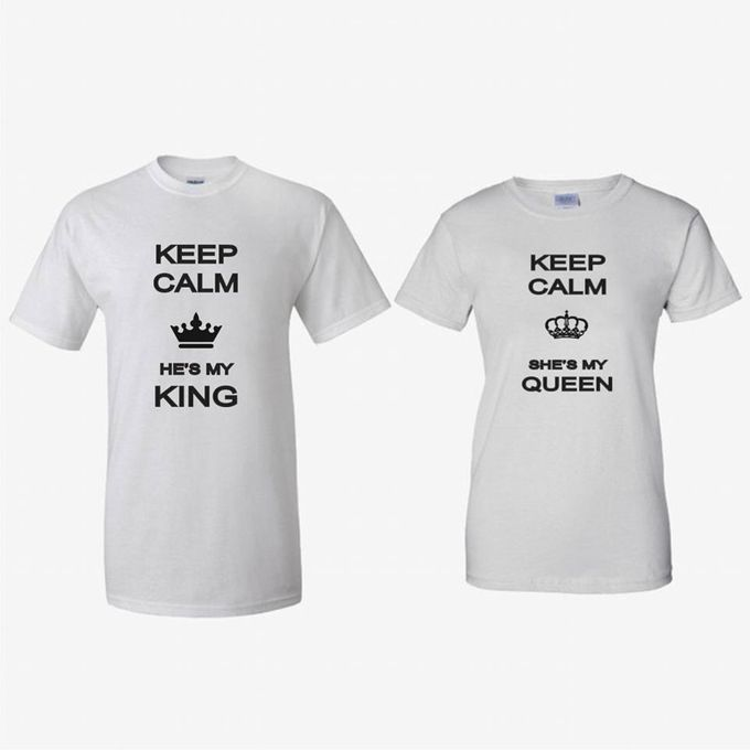 T-Shirt Couple Vintage lucu dan Kaos Bride & Groom by Dior Gift - 005