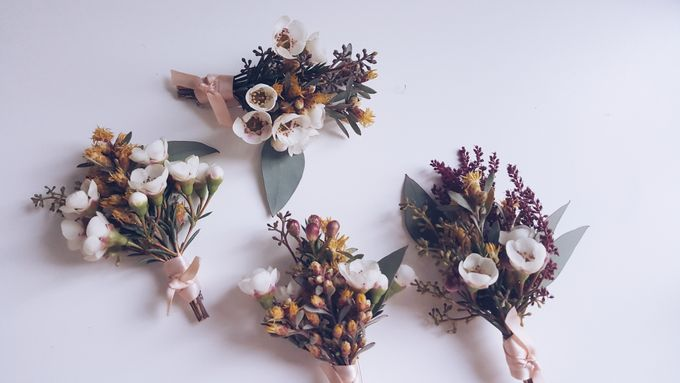 Garden Inspired Bouquets III by Keira Floral - 022