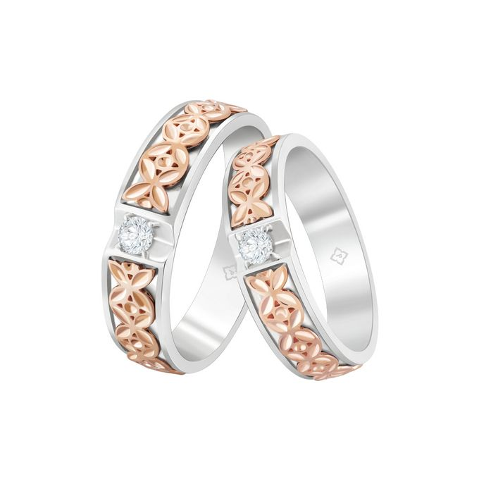 Wedding Ring Kekaseh by THE PALACE Jeweler - 004