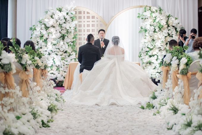 The Wedding of Kelvin & Wenny by Pamella Bong - 001