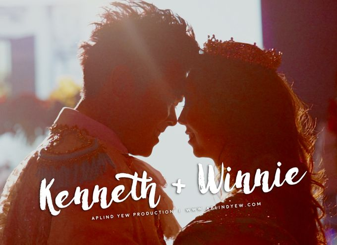 Kenneth & Winnie - Wedding Actual Day Cinematic Video by Aplind Yew Production - Wedding Cinematography & Photography - 001