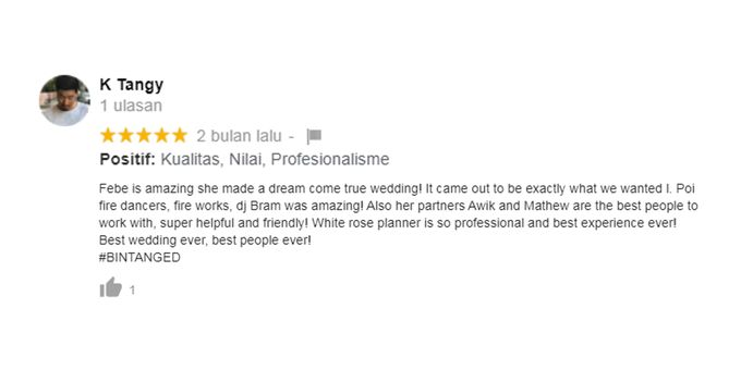Client Review by White Roses Planner - 001