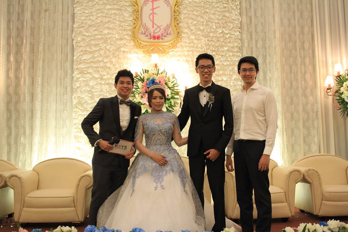 Felix & Monica Wedding by Jakarta Souvenir - 001