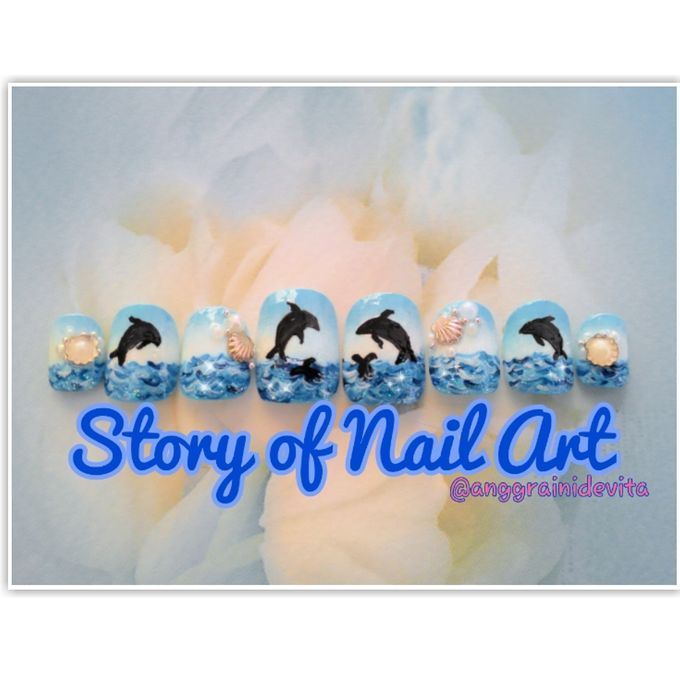 Painting Nails by Story of Nailart - 035