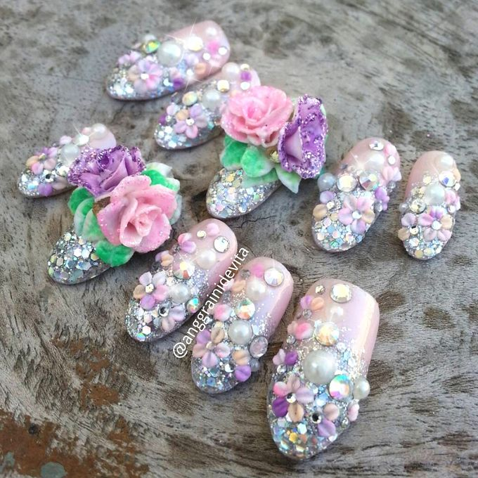 Fake Nails by Story of Nailart - 011