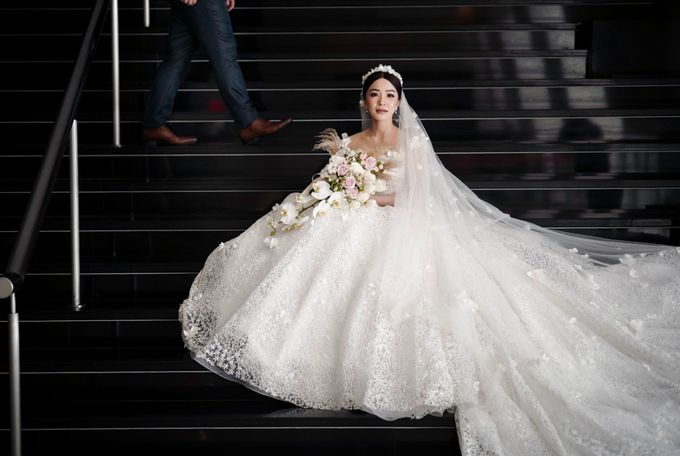 Adit & Tata Wedding at Hilton by PRIDE Organizer - 022