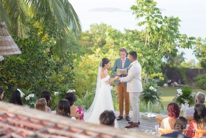 Misa and  Des wedding at Koh Koon villa by BLISS Events & Weddings Thailand - 003