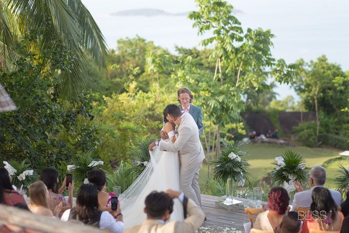 Misa and  Des wedding at Koh Koon villa by BLISS Events & Weddings Thailand - 004