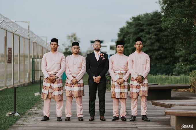 Actual Day Wedding of Khairul and Amalina by Colossal Weddings - 016
