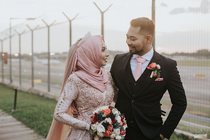 Actual Day Wedding of Khairul and Amalina by Colossal Weddings - 018