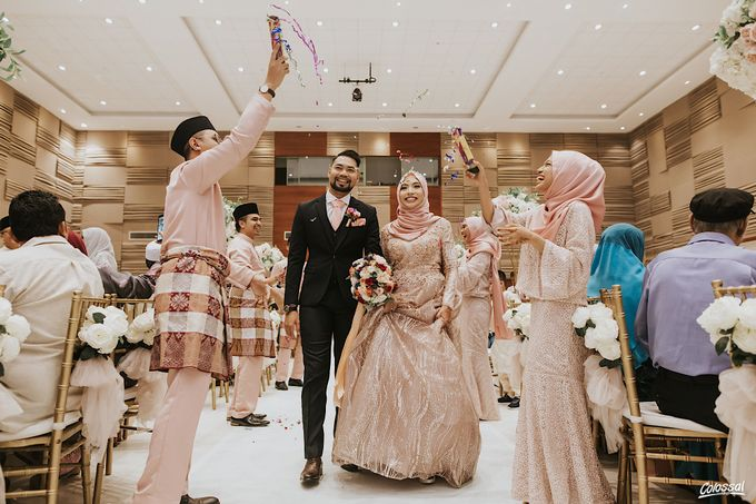 Actual Day Wedding of Khairul and Amalina by Colossal Weddings - 009