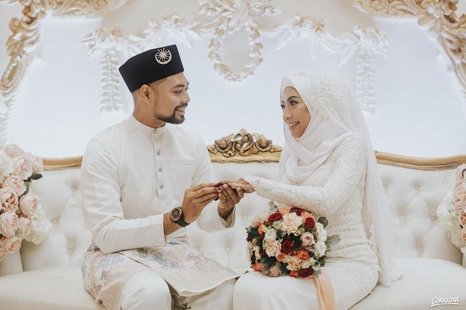 Actual Day Wedding of Khairul and Amalina by Colossal Weddings - 001
