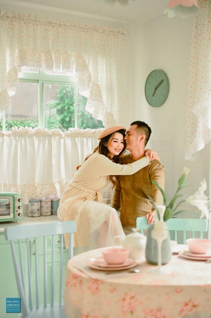 Prewedding of Maichellius & Claudia by Khayim Beshafa One Stop Wedding - 003
