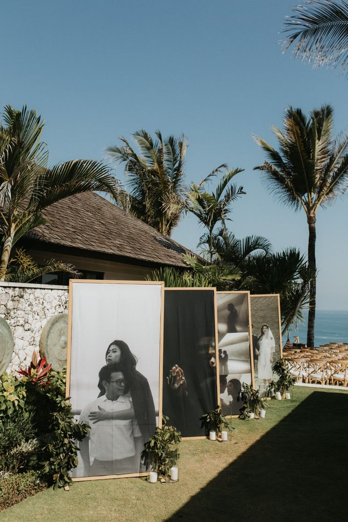 The Wedding of Kezia and Hans by THE UNGASAN CLIFFTOP RESORT BALI - 011