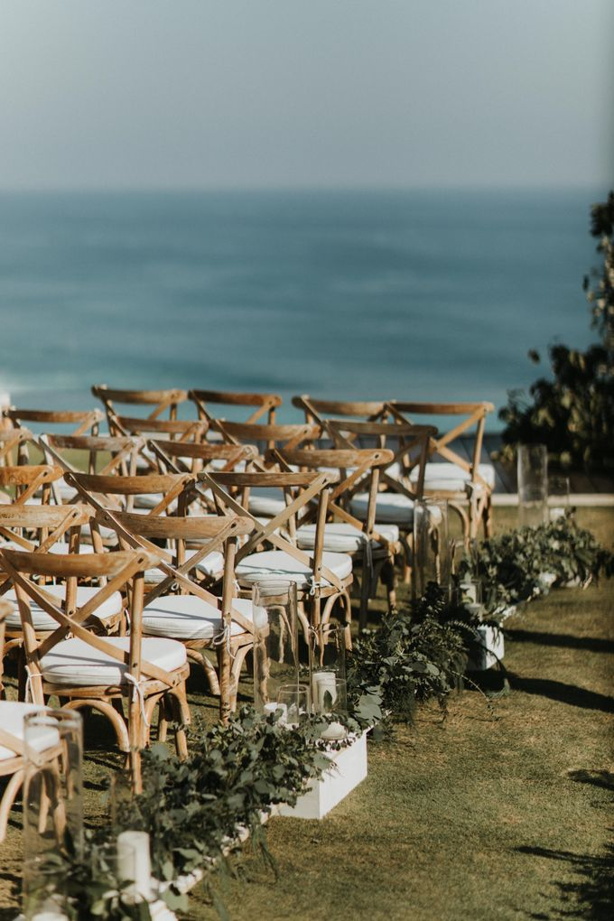 The Wedding of Kezia and Hans by THE UNGASAN CLIFFTOP RESORT BALI - 013