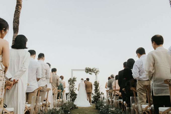 The Wedding of Kezia and Hans by THE UNGASAN CLIFFTOP RESORT BALI - 027
