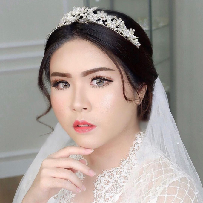 Wedding Look by Kim Bridal - 001