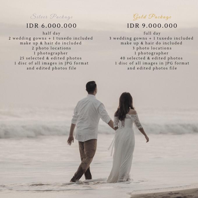 Prewedding package by Kings Bridal & Tailor - 001
